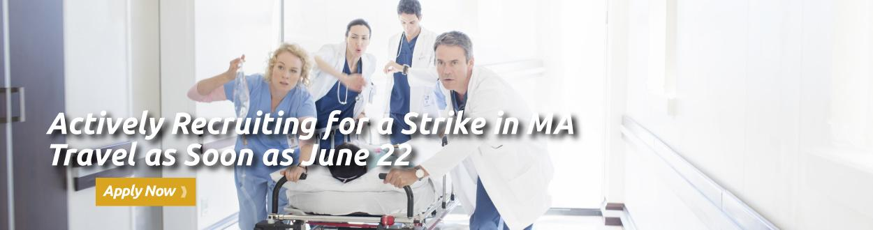 Actively Recruiting for a Strike in Massachusetts